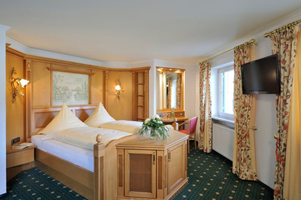 Doppelzimmer Biberkopf im Heuwirt des Berwanger Hof - 4 Sterne Hotel im Allgäu