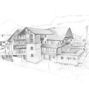 Berwanger Hof - Haupthaus