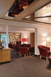 Lobby im Berwanger Hof - 4 Sterne Hotel im Allgäu