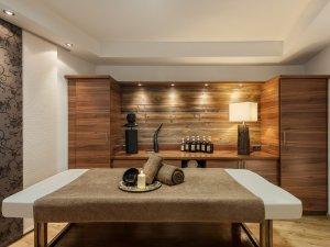 Ayurveda-Raum im 4 Sterne Wellnesshotel im Allgäu