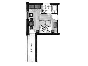 Grundriss Doppelzimmer Höfats im Landhaus Berwanger Hof - 4 Sterne Hotel im Allgäu