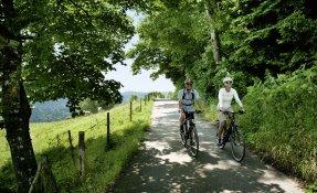 Radfahren im Allgäu