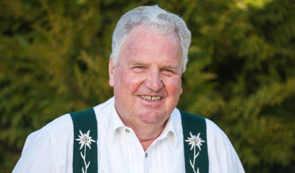 Gastgeber Helmut Berwanger