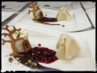 Schaurig-schönes Halloween Dessert...