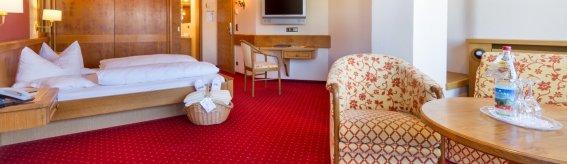 Doppelzimmer Grünten im Berwanger Hof - 4 Sterne Hotel im Allgäu