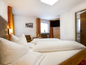 Doppelzimmer Höfats im Landhaus des Berwanger Hof - 4 Sterne Hotel im Allgäu