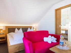 Doppelzimmer Sonnenblick im Berwanger Hof - 4 Sterne Hotel im Allgäu