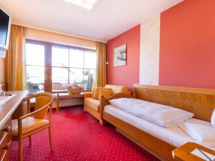 Einzelzimmer Nagelfluh im Berwanger Hof - 4 Sterne Hotel im Allgäu