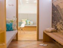 Wellnessbereich im Alpen Spa im 4 Sterne Wellnesshotel im Allgäu