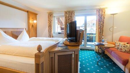 Doppelzimmer Burgschrofen im Heuwirt des Berwanger Hof - 4 Sterne Hotel im Allgäu