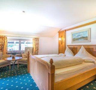 Doppelzimmer Besler im Heuwirt des Berwanger Hof - 4 Sterne Hotel im Allgäu