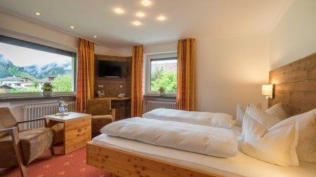 Doppelzimmer Zwölferkopf im Landhaus des Berwanger Hof - 4 Sterne Hotel im Allgäu