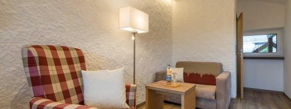 Wohnbereich im Landhaus des Berwanger Hof - 4 Sterne Hotel im Allgäu