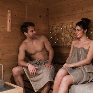 Sauna im 4 Sterne Wellnesshotel im Allgäu