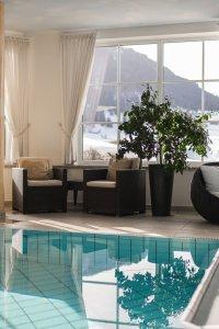 Relaxlounge im 4 Sterne Wellnesshotel im Allgäu