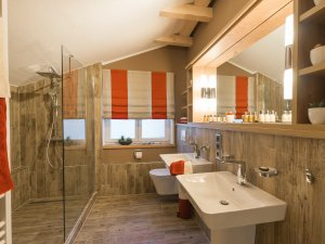 Badezimmer im Chalet Alpin