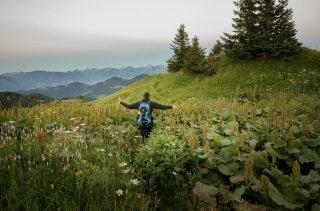 Wandern durch eindrucksvolle Landschaften