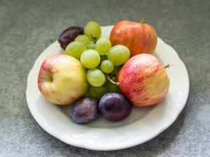 Frisches Obst auf dem Zimmer