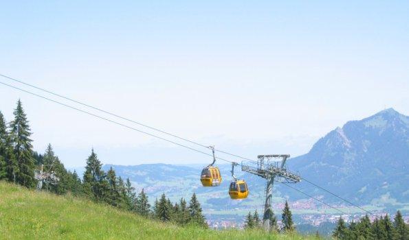 Hörnerbahn im Sommer
