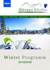 Freizeitprogramm Hörnerdörfer Winter 2020