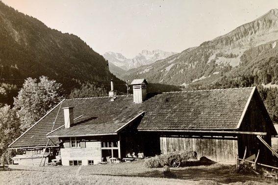 Der Hof von Heinrich Berktold