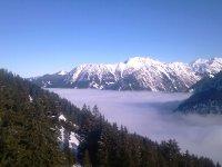 Oberstdorf im Nebel