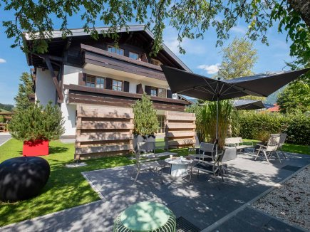 Boutiquehotel Gams im Sommer