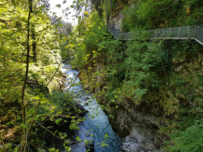 Wanderweg nach Riezlern