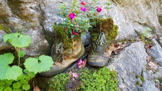 Blumen Schuhe