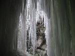 Eisiges Fenster