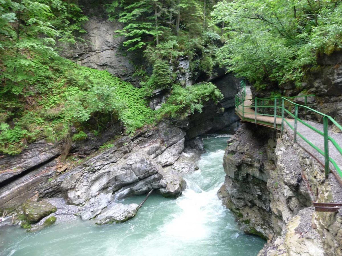 Breitachklamm zwischen Oberstdorf und Tiefenbach