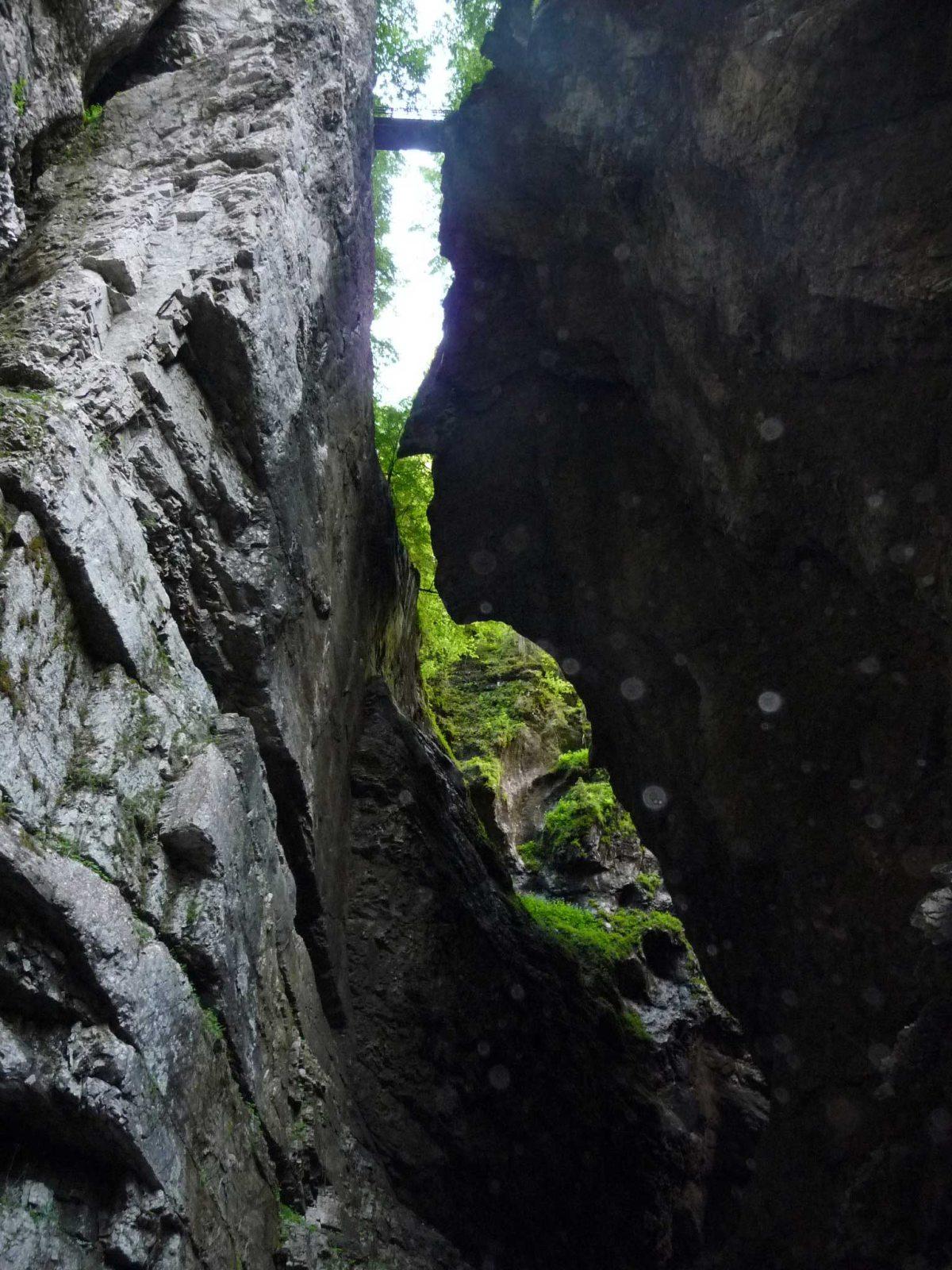 Ein Gesicht im Fels