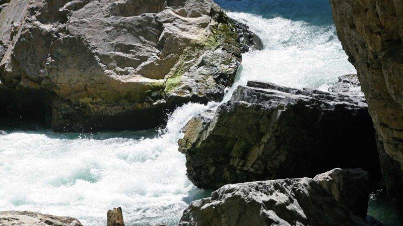 The Breitach on its way through the gorge