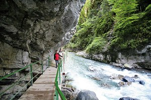 Natural wonder Breitachklamm