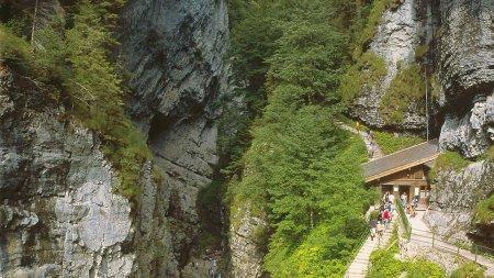 Berg Kasse der Klamm