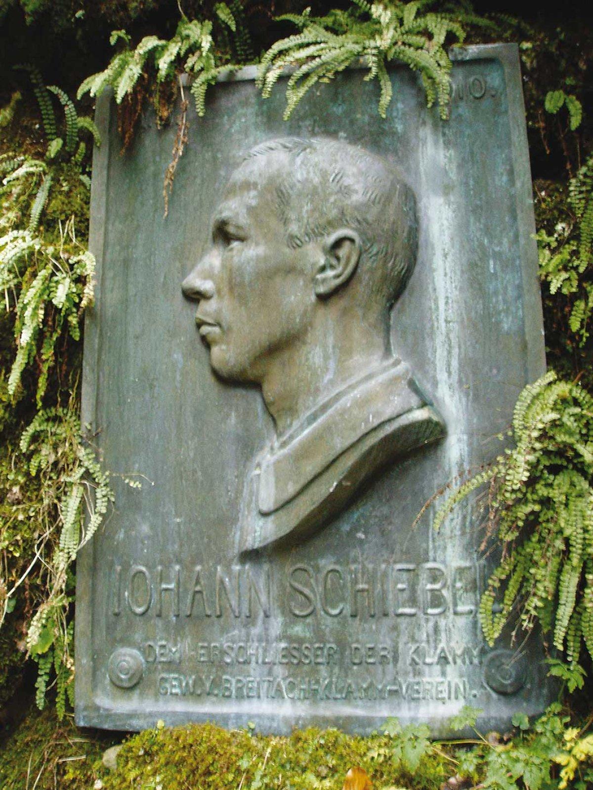 Denkmal Johannes Schiebel