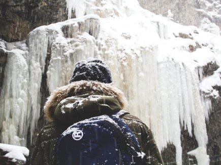 Winter in der Breitachklamm