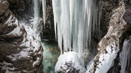 Eiszeit in der Breitachklamm