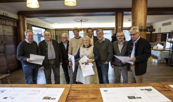Jury-Meeting in der Walserschanz