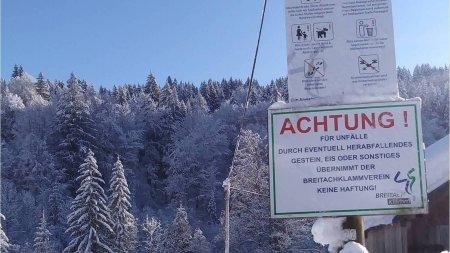 Sicherheitshinweise im Winter