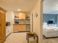 Wohnraum mit Küche - Wohnung 107