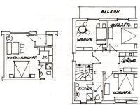 Grundriss (Wohnung Nr. 1 und 3)