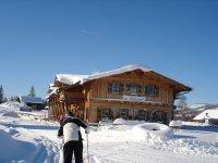 Buron-Stadl Außen Winter