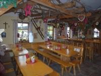Buron-Stadl Innen Weihnachten