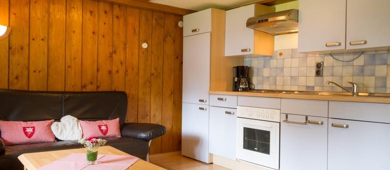 Wohnung Kratzer: Küche im Wohnberich
