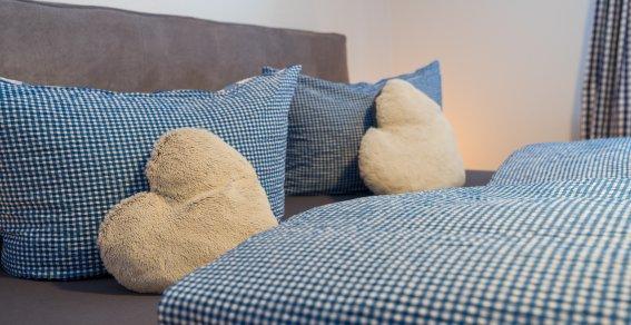 Wohnung Trettach: Schlafzimmer Detail