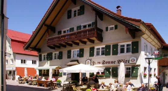 Café Sonne in Oberstaufen