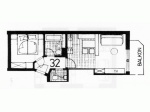 Haus Central Grundriss Wohnung 32