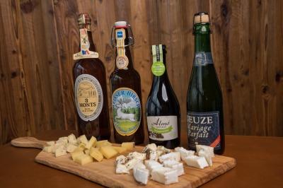 Bier und Käse