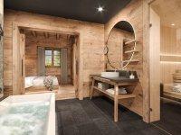 Badezimmer, Sauna, Schlafzimmer